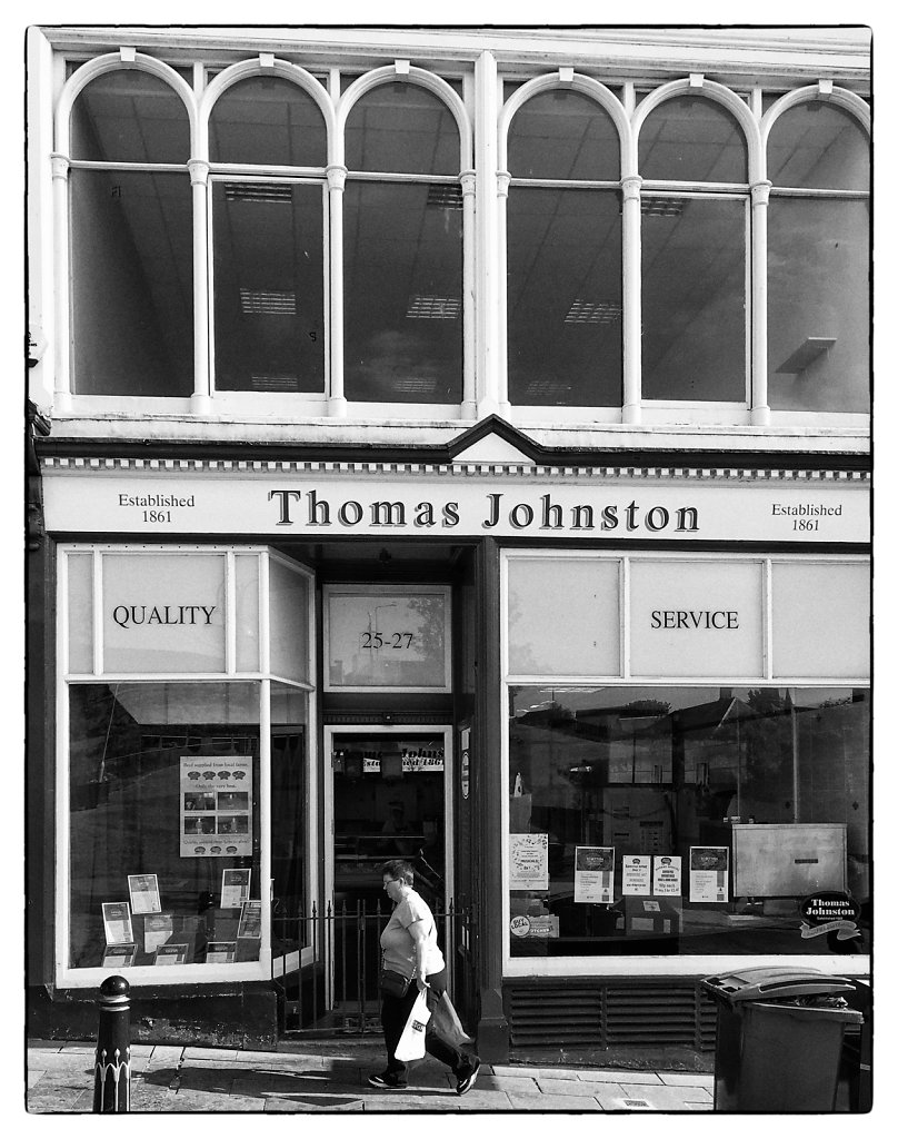 Thomas Johnston, Dunfermline, Scotland 2016