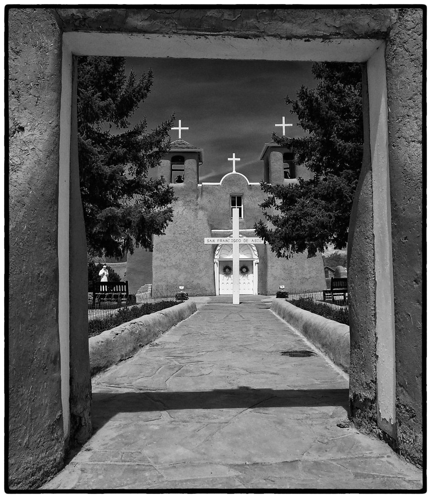 San Francisco de Asis, Rancho de Taos, New Mexico 2015