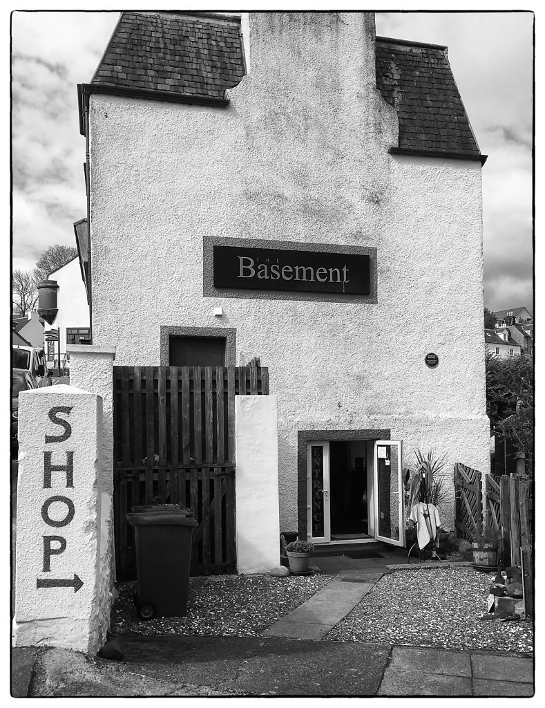 The Basement, Portree, Isle of Skye, Scotland 2016